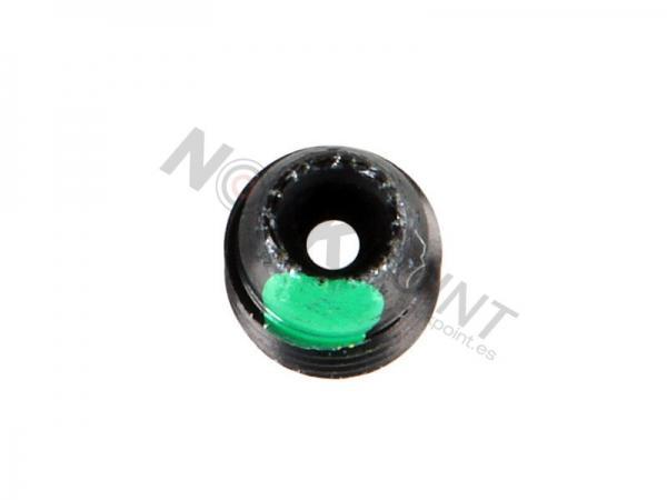 Apertura con lente para Super Peep Verde #2 - El clarificador verde es recomendado para scopes de 4x, 6x, 7x y algunos scopes de 8x