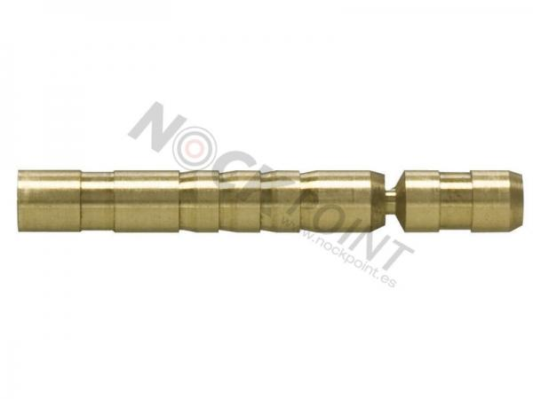 LIQUIDACIÓN: Docena insertos Easton HIT brass -