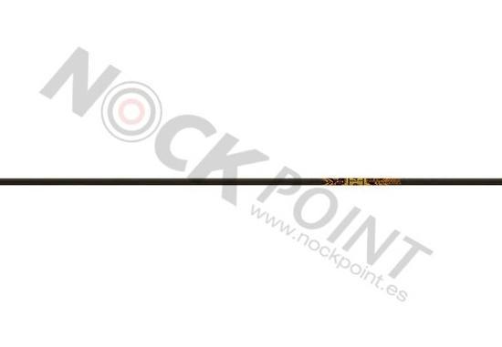 Tubo / Flecha emplumada Gold Tip Ultralight Entrada (unidad) - Incluye culatín e inserto (no incluye punta)