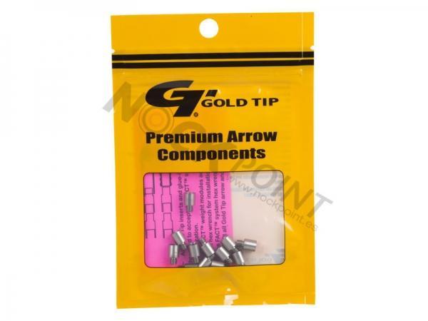 Pesos para Puntas Gold Tip FACT - Si tienes duda sobre la compatibilidad con puntas Gold Tip, puedes preguntarnos por el modelo concreto a través del botón