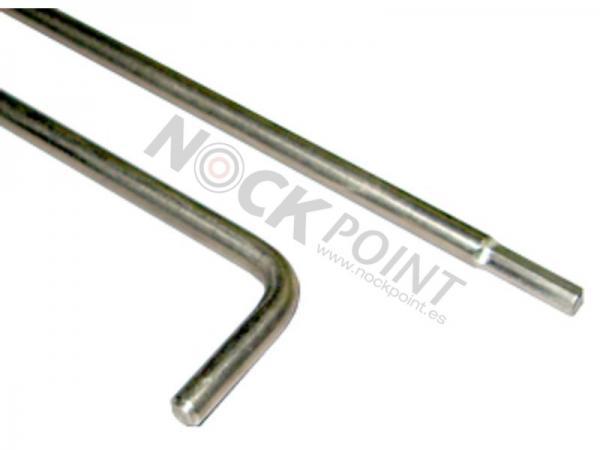Llave Gold Tip para Instalación de Pesos para Punta - Llave para instalación de pesos de punta desde el culatín y sin desmontar punta