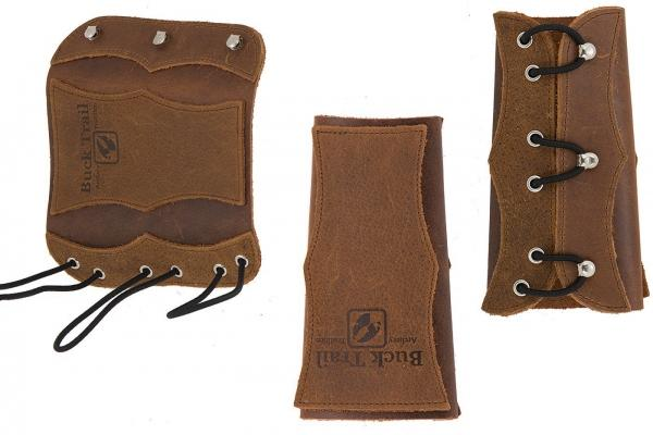 Protector de Brazo Buck Trail Velvet 16cm (Brown Soft Leather) -