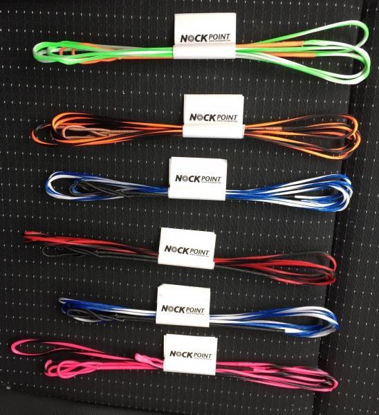 Cuerda Custom para Recurvo Fabricada a Mano - Nock Point - Cuerdas de alto rendimiento totalmente personalizadas (materiales, longitudes, colores, etc.), y fabricadas a mano. Puedes consultarnos  también por nuestros juegos de cuerdas y cables personalizados para arco compuesto a través del botón de
