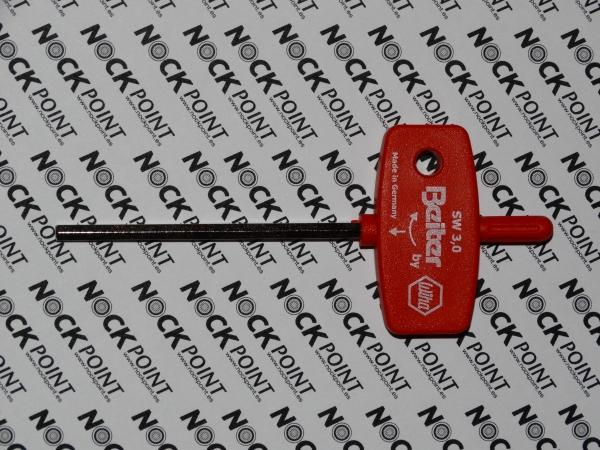 Llave para ajuste de reposaflechas Beiter compuesto (3mm) -