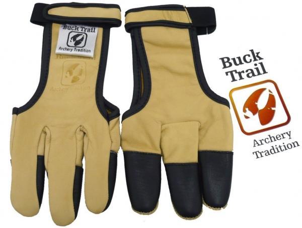 Guante Buck Trail Amarillo con Refuerzo de Búfalo en Dedos