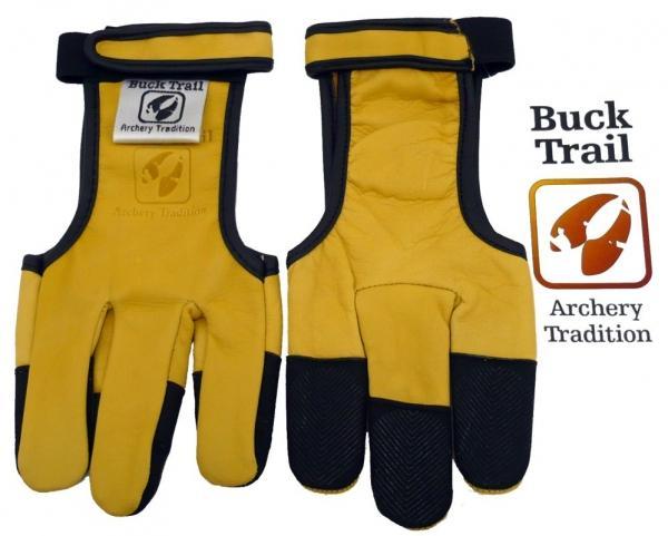 Guante Buck Trail Amarillo con Refuerzo de Silicona en Dedos