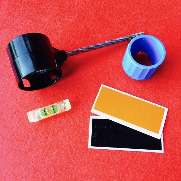 Scope Beiter Ø29mm colores con Lente K-Zeis - Incluye: Scope Beiter 29mm con lente K-lens Zeiss, nivel, soporte de nivel, pegatinas y llave para desmontar la lente. Si necesitas cualquier repuesto del scope Beiter, consúltanos a través del botón de