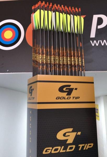 Flecha Gold Tip Ultralight Entrada (Unidad) - Incluye culatín e inserto (no incluye punta)