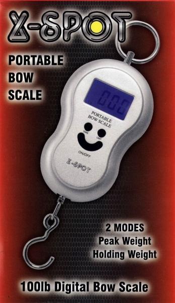 Peso Digital X-Spot - Báscula digital hasta 100 libras. Con función potencia maxima (peak weight) o instantánea