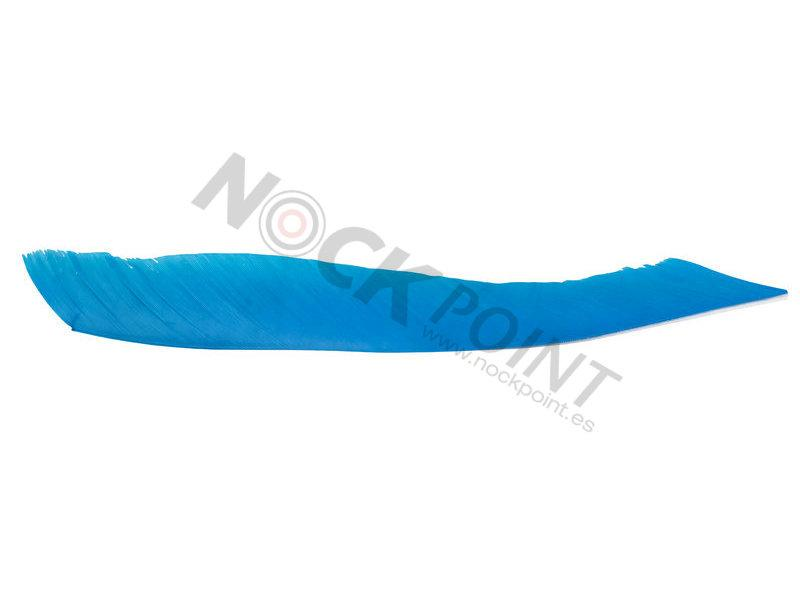 Pluma Natural Full Length Trueflight para Flu-Flu (Unidad)