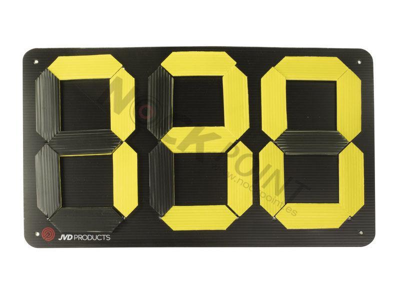 Marcador para Control de Tanteo (3 dígitos) - 47 x 27 cm