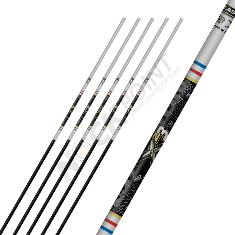 Tubo Easton X23 (unidad) plata-negro