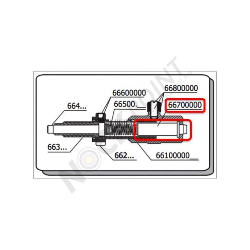 Repuesto Separador Muelle Beiter para Botón de Presión