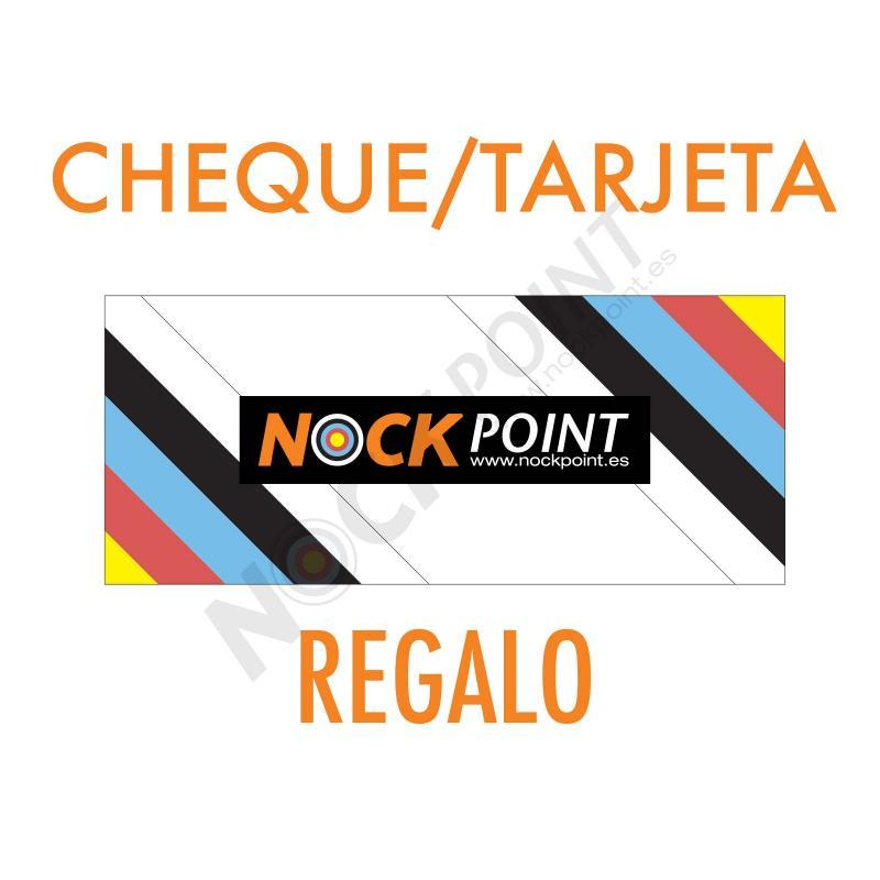 Cheque / Tarjeta Regalo Nock Point