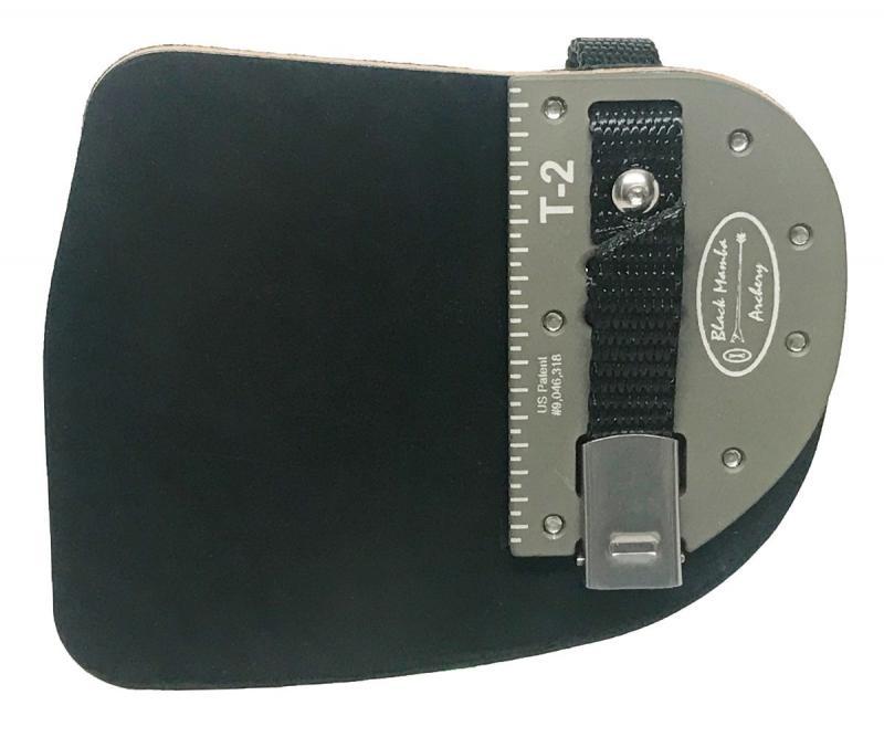 Dactilera Black Mamba Traditional 2 Cordovan (placa aluminio) - Talla única
