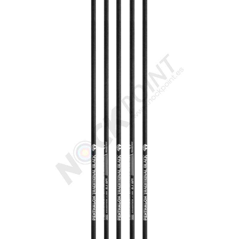 Tubo Bearpaw Penthalon Traditional Black con inserto y culatín (unidad)