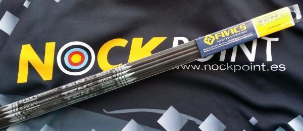 Flechas Fivics Ten Pro y repuestos (Docena tubos + repuestos)