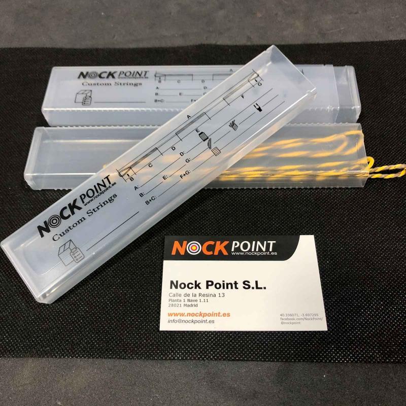 Estuche Nock Point para cuerda (unidad) - Estuche de cierre telescópico en material plástico