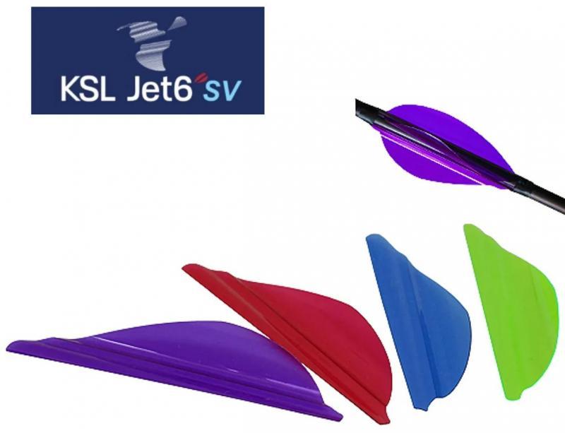 Pluma KSL SV Jet6 (paquete de 50 unidades)