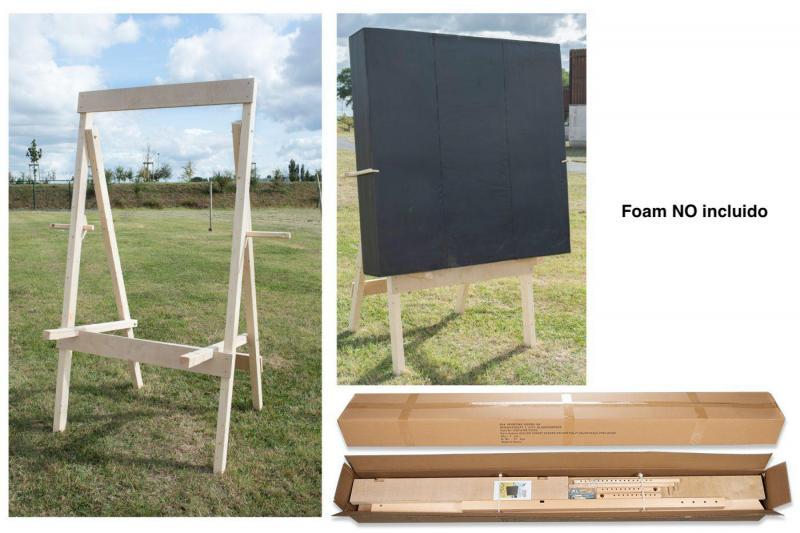 Bastidor Avalon de madera para parapeto diana de foam