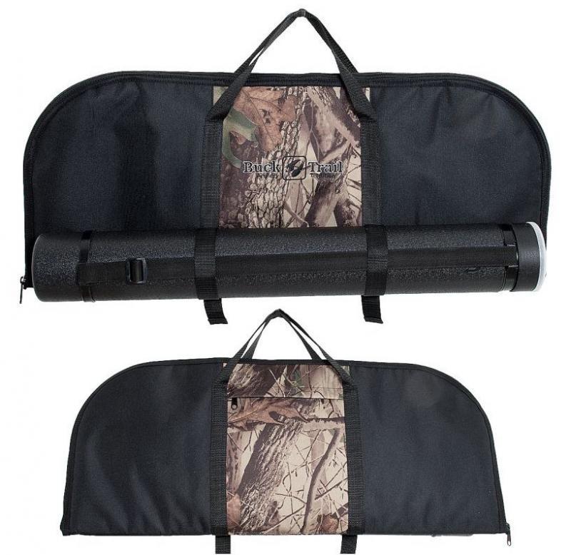 Funda/Bolsa Buck Trail para cuerpo, palas y accesorios - 70 x 30 cm (incluye tubo portaflechas)