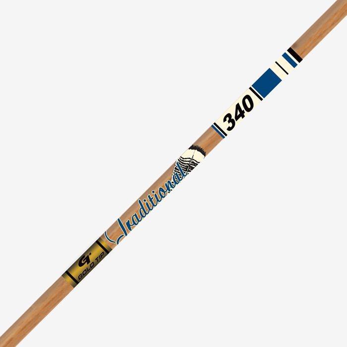 Tubo Gold Tip Traditional XT carbono con acabado imitación madera (Unidad) (Docena)