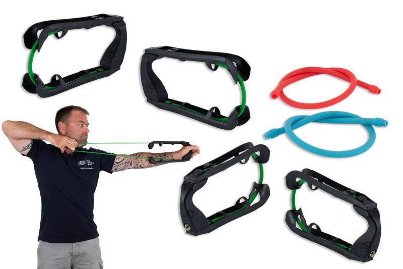 Entrenador Pedago Archery Grip Trainer - Incluye 3 gomas de distinta dureza (blanda, media y dura)