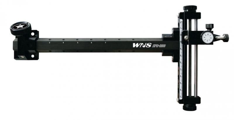 Visor Winners SPR-200 (Olímpico y Compuesto) - Incluye ambas roscas compatibles para recurvo y compuesto (poleas)